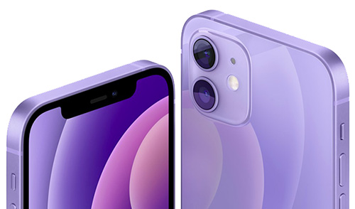 Apple iPhone 12 и 12 mini purple
