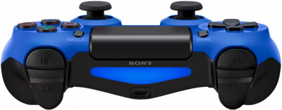 Геймпад PlayStation Dualshock 4 Wave Blue синий