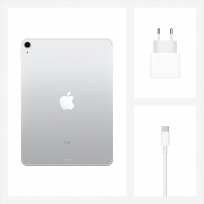 apple ipad air 2020 wi-fi 64 gb silver магазин Appleworld