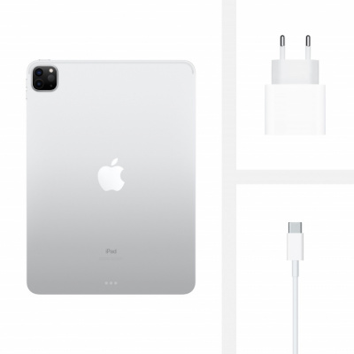 "apple ipad pro (2020) 11"" wi-fi + cellular 128 gb silver магазин Appleworld"