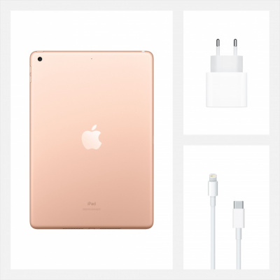 apple ipad 10.2 2020 wi-fi 32 gb gold магазин Appleworld