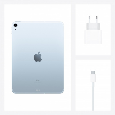 apple ipad air 2020 wi-fi 64 gb sky blue магазин Appleworld